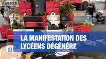 A la Une : La manifestation des lycéens dégénère à Saint-Etienne. Des groupes de jeunes ont profité de ce rassemblement pour casser. Des affrontements ont éclatés avec les forces de l'ordre. Les commerces obligés de baisser le rideau.