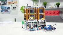 LEGO Creator Expert 10264 Corner Garage (2019) - Vidéo