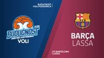 Buducnost VOLI Podgorica - FC Barcelona Lassa Highlights | Turkish Airlines EuroLeague RS Round 11