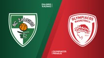 Zalgiris Kaunas - Olympiacos Piraeus Highlights | Turkish Airlines EuroLeague RS Round 11