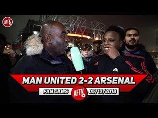 man united 2 2 arsenal guendouzi taught matic a footballing lesson man united fan