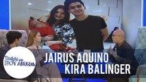 TWBA: Kira Balinger and Ryle Santiago's current relationship