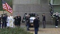 Último adiós al expresidente George H.W. Bush en Texas