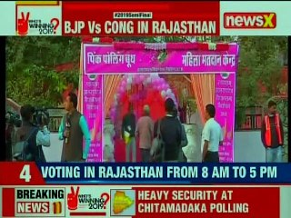Rajasthan-Telangana Assembly Elections 2018: Polling booth in Jubilee Hills
