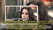 General Hospital Spoilers Thursday, December 6 – Sam Has Startling Proof – Liesl Caught in a Trap –