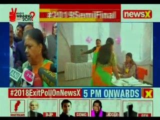 Battleground Rajasthan Assembly Elections 2018: CM Vasundhara Raje Cast Vote