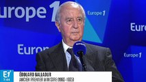 """Édouard Balladur souhaite que les """"gilets jaunes"""" se rendent compte qu'ils ont """"tout intérêt à éviter la violence"""""""