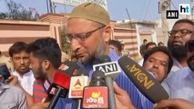 Telangana polls: Owaisi casts his vote, urges citizens to do the same