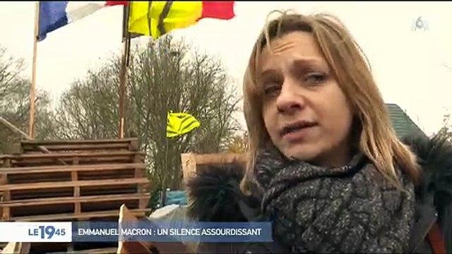 """Un gilet jaune sur Emmanuel Macron : """"Qu'il avoue qu'il est vaincu, les gilets jaunes sont plus forts que lui"""" - Regardez"""