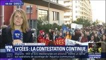 """Mantes-la-Jolie: la présidente de l'Unef réagit """"ces images sont scandaleuses et inacceptables"""""""