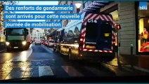 Deuxième journée de manifestation des lycéens à Béziers