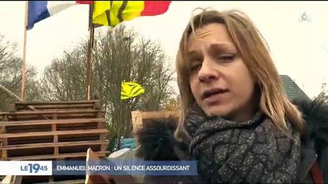 """Un gilet jaune sur Emmanuel Macron : """"Qu'il avoue qu'il est vaincu, les gilets jaunes sont plus forts que lui"""""""