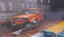 VÍDEO: El Jeep Wrangler fracasa en los test de impacto EuroNCAP: ¡1 sola estrella!