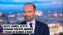 Gilets jaunes, acte IV : 12 blindés de la gendarmerie nationale déployés à Paris