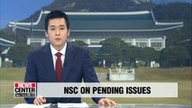 NSC discuss issues on joint inter-Korean projects and upcoming KORUS defense cost talks