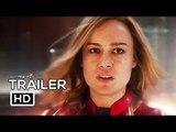 CAPTAIN MARVEL Official Trailer #2 (2019) Brie Larson, Marvel Superhero Movie HD