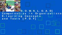 F.R.E.E [D.O.W.N.L.O.A.D] Competencies in Organizational E-learning Concepts and Tools [P.D.F]