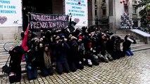 Paris, Montreuil, Dijon... Des lycéens reproduisent l'interpellation de 151 adolescents à Mantes-la-Jolie