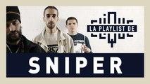 """La Playlist de Sniper : """"Dans notre musique on ne ment pas, on n'a jamais mis de déguisement"""" - CLIQUE TV"""