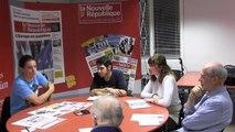 VIDEO. Poitiers : Sylvain Chavanel face aux lecteurs de La Nouvelle République - Centre Presse