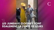 PHOTOS. Amal Clooney, radieuse pour une rare sortie avec ses jumeaux, Ella et Alexander