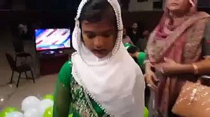mili naghma by little girl ay watan k sajely jawanon
