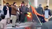 BURNS PTI FLAGS BY PATHAN