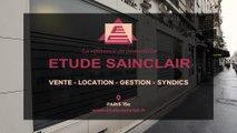 Étude Sainclair, vente, location, gestion immobilière et syndic de copropriété à Paris 15e.