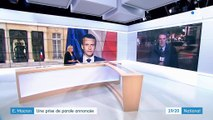 La prise de parole d'Emmanuel Macron annoncée