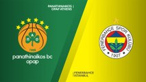 Panathinaikos OPAP Athens - Fenerbahce Istanbul Highlights | Turkish Airlines EuroLeague RS Round 11
