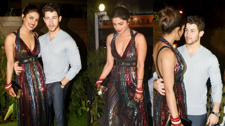 Priyanka Chopra & Nick Jonas's Gorgeous look will raise your HEARTBEAT ; Must Watch   Boldsky
