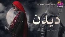 Deedan - Episode 3 | Aplus Dramas | Sanam Saeed, Mohib Mirza, Ajab Gul, Rasheed | Pakistani Drama
