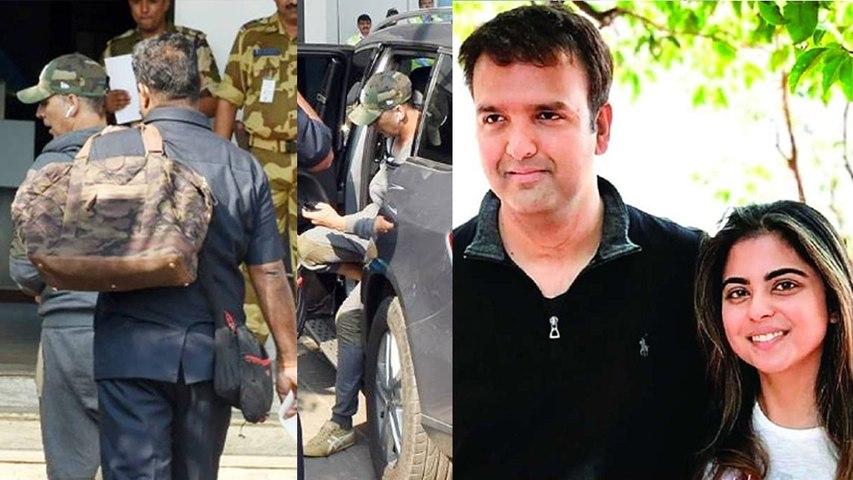 Isha Ambani Wedding : Akshay Kumar heads for Udaipur to attend Marriage  Boldsky