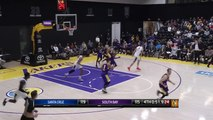 Travis Wear (27 points) Highlights vs. Santa Cruz Warriors