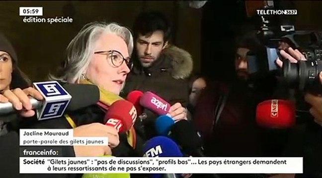 """Gilets Jaunes : La délégation de Gilets Jaunes affirme que """"la balle est désormais dans le camp d'Emmanuel Macron"""""""