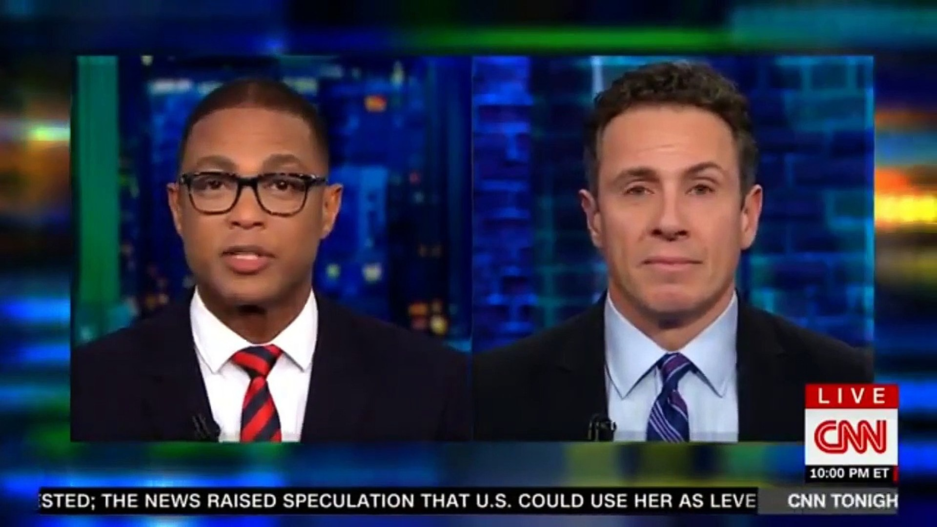 CNN Don Lemon If There's nothing to collusion with the Russian's Why all lie---