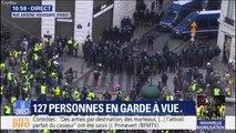 """Édouard Philippe: """"À Paris, nous avons déjà procédé à 481 interpellations et 211 personnes sont placées en garde à vue"""""""