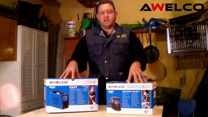 unboxing saldatrice 160 A awelco easy 180 (made in italy)