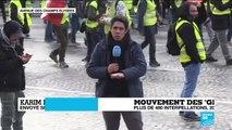 """Mouvement des #GiletsJaunes : """"Les CRS et les gendarmes mobiles sont en train de charger"""""""