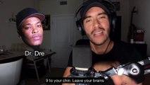 Il rappe comme Eminem, Dr Dre et Snoop Dogg !