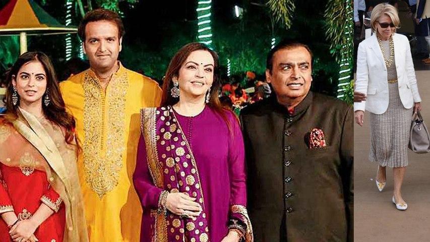 Isha Ambani Wedding: Isha Ambani की Sangeet Ceremony में पहुंची Hillary Clinton  Boldsky