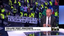 "Yellow Vest protests: ""A much bigger clampdown on protesters compared to last week"""