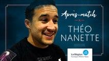 La réaction de Théo Nanette après FCG-Agen