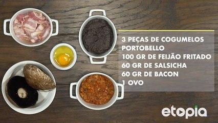 Sope Ibérico (canapé com massa de tortilha)