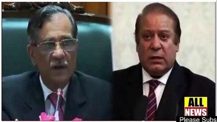 CJP Saqib Nisar on Nawaz Sharif and Khawaja Haris   Ary News Headlines