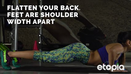 Push-ups- Tone your arms without equipment