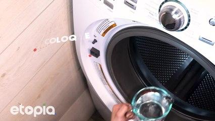 Chega de sarro na sua maquina de lavagem