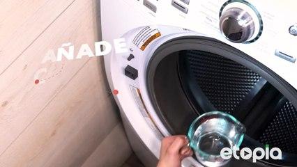 No más sarro en tu lavadora.