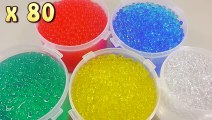 DIY Combine Colors Orbeez How To Make 'Magic Growing Water Balls' Learn Colors O