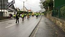 Gilets jaunes à Quimperlé : 500 manifestants ce samedi 8 décembre 2018
